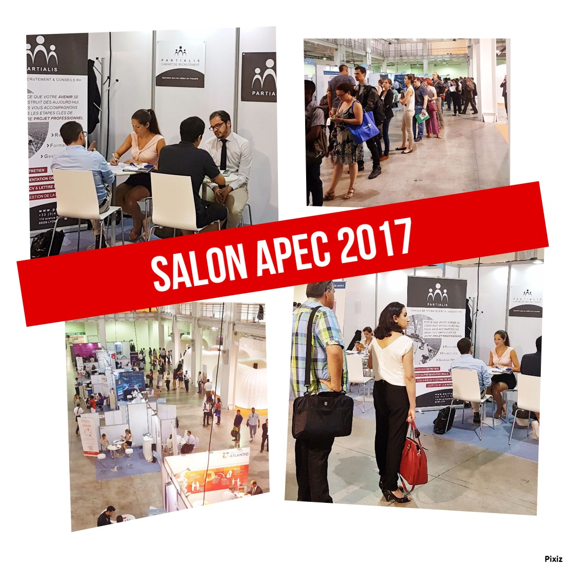 Salon de l apec 2017 recrutement et emploi industrie en for Salon recrutement 2017
